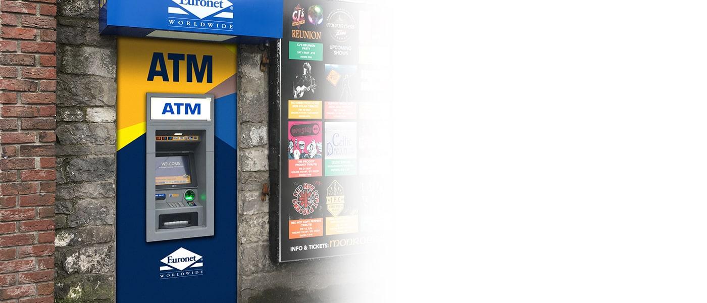 For å sikre et høyt servicenivå for kundene dine, administrerer og vedlikeholder vi minibanken for deg.