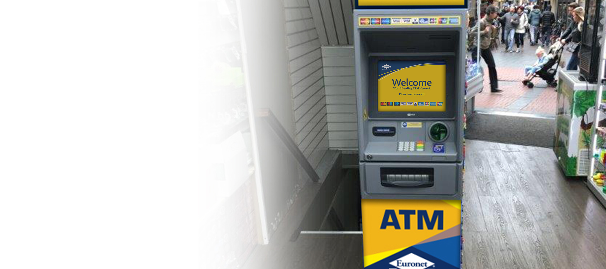 Våre minibankløsninger er designet til en rekke bransjer.