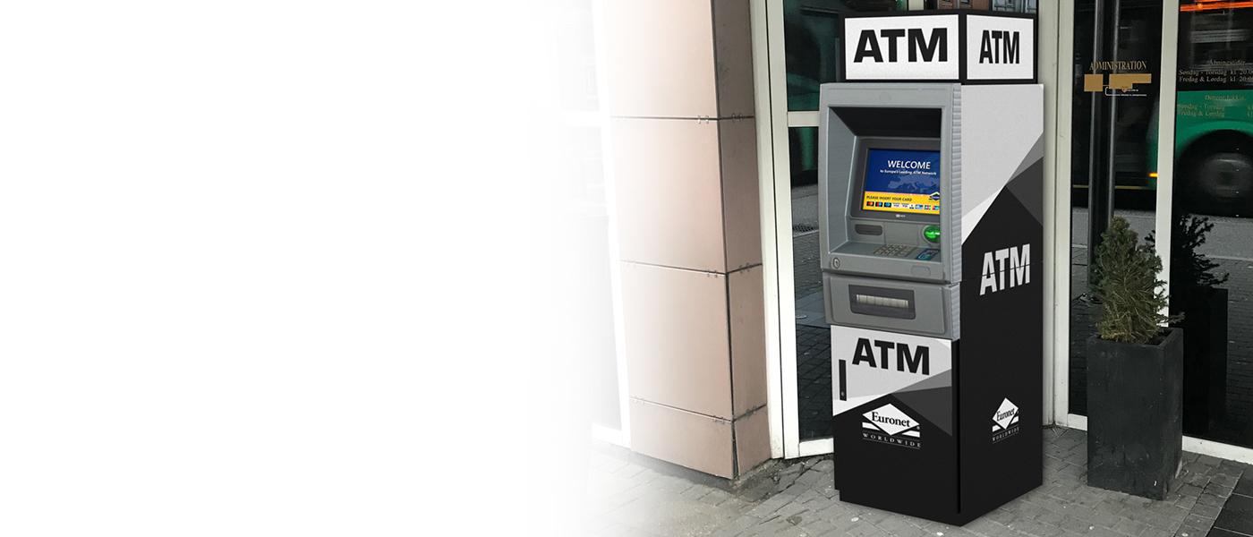 Tilby dine kunder en ekstra tjeneste med en Euronet-minibank.